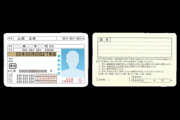 身分証の掲示に関する画像